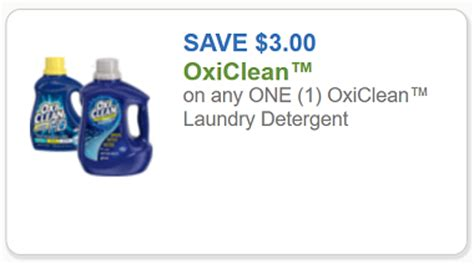 Oxiclean Printable Coupon