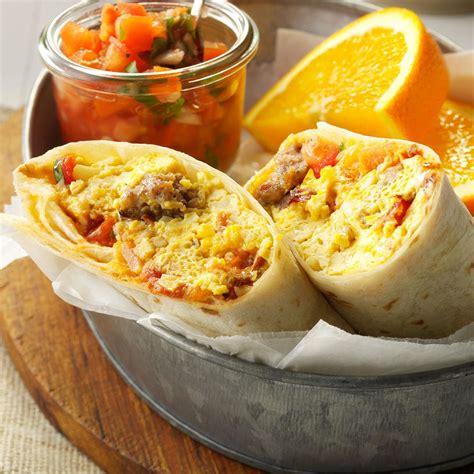 brunch burritos recipe taste of home