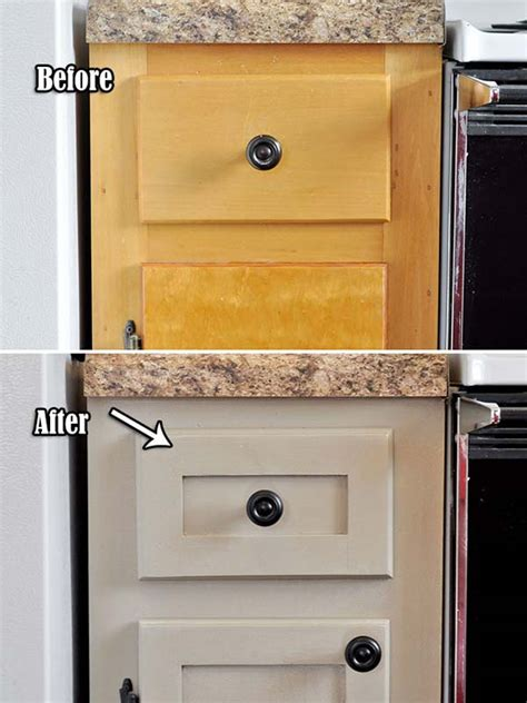inexpensively update old flat front cabinets by adding ideas at the house 20 inexpensive ways to dress up your