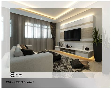 Modern Tv Feature Wall Design by Tv Feature Wall Archives Interior Design Singapore