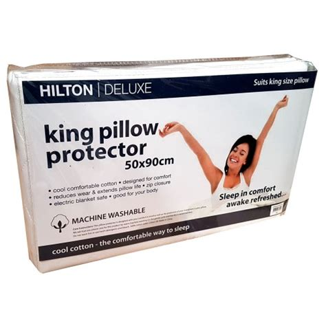 The Luxe 2pcs Pillow Twinpack cottonplus by pillow protector manchester madness
