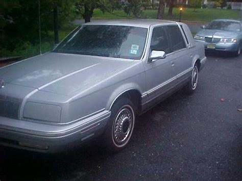 1992 Chrysler New Yorker by Xxxjohnkimblexxx 1992 Chrysler New Yorker Specs Photos