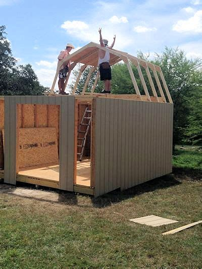 build   awesome shed