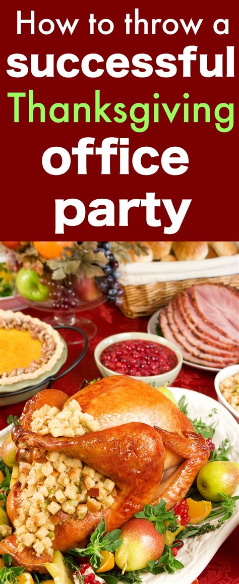 how to throw a successful thanksgiving office party my mommy style
