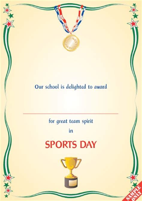 Sports Certificate S91   Pixygraphics
