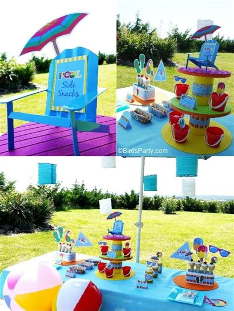 pool party decorations 1000 ideas about kid pool parties on pinterest pool