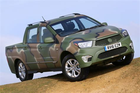 ssangyong korando sports camo clad ssangyong korando sports dmz is quot a bit of fun