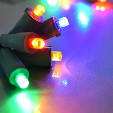 Flexchange Led String Light Strand 50 Frosted Multi Led Multi Color Lights