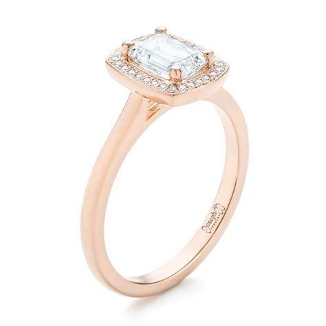 custom halo engagement ring 103914