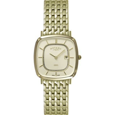 rotary gold plated bracelet gb08102 03 shade station