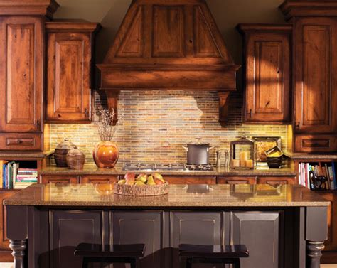 cherry kitchen cabinets classy and stylish rustic kitchen the granite gurus design style week 10 rustic kitchens