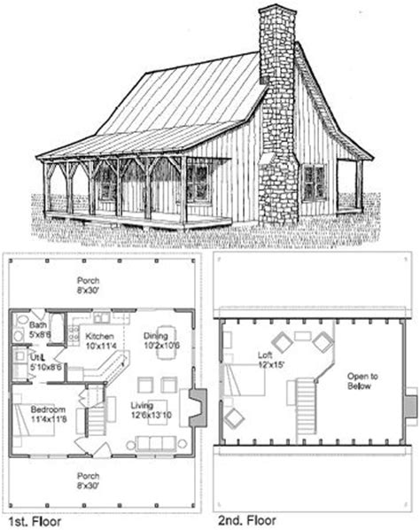 free cottage floor plans 10 best ideas about small cabin plans on