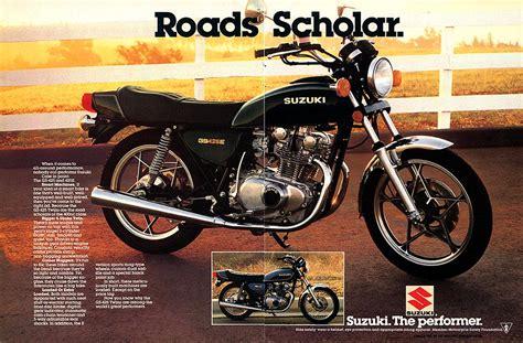 Suzuki Ad Suzuki Gs425 And Gs425e Magazine Ads