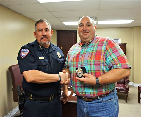 san angelo police department welcomes  familiar face san angelo police department
