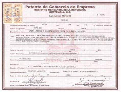 api patente de vehiculos proinco patente de comercio