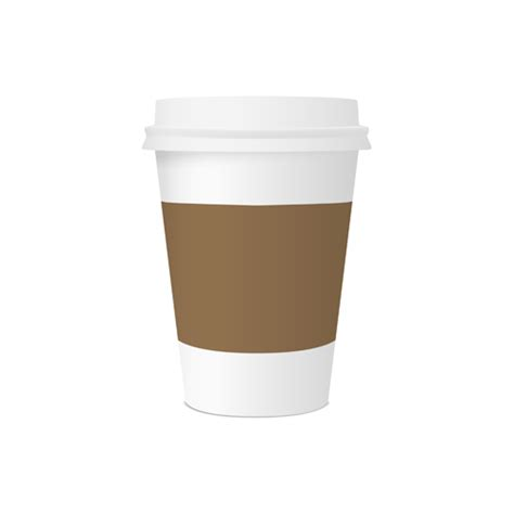 How To Make A Paper Coffee Cup - coffee cup to go vector www pixshark images