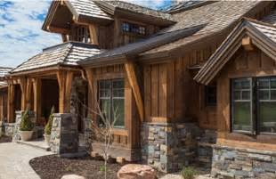 Commonly integrated with various patterns of stone timbers and trim