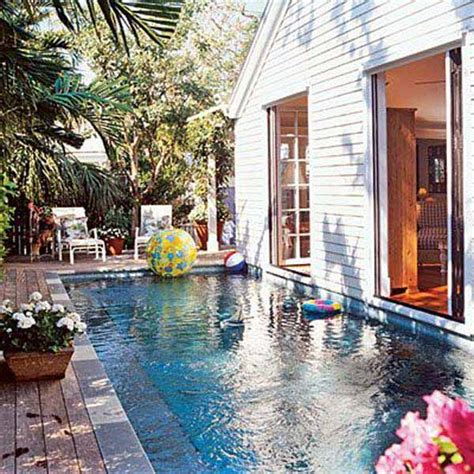 small built in pools 25 fabulous small backyard designs with swimming pool