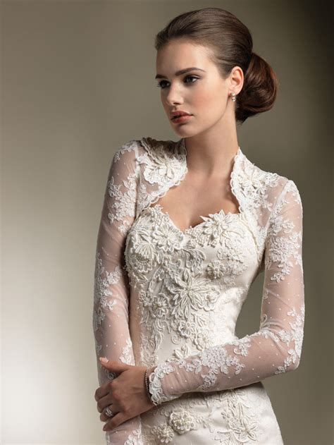 ten dazzling long sleeve wedding dresses bestbride