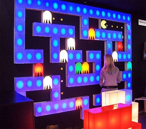 cool lights for room pac man blocks light up your life