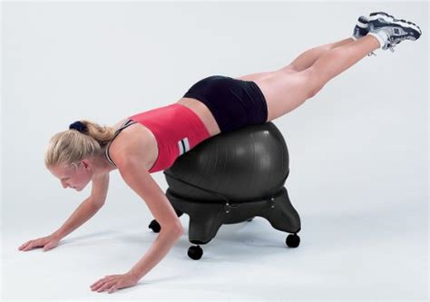 Fitness Chair Base by Sivan Health And Fitness Balance Fit Chair Base With Sporting Goods Team Sports