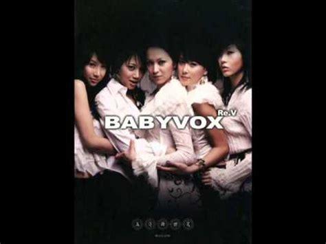 baby vox rev never say goodbye live 베이비복스 리브 babyvox re v never say goodbye