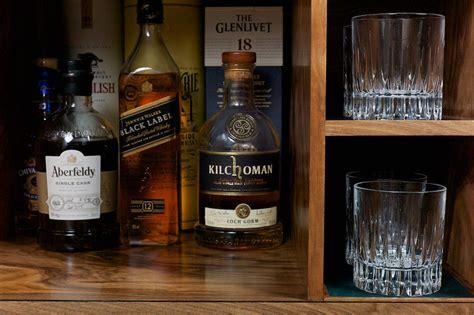 Handcrafted Whiskey - whiskey storage cabinet interior designing whisky cabinet