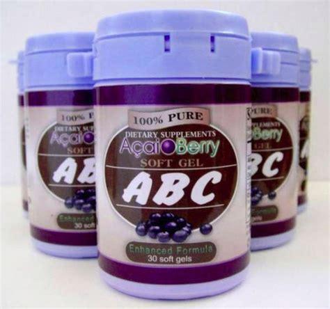 Pelangsing Acai Berry obat pelangsing abc acai berry toko thienlie malang