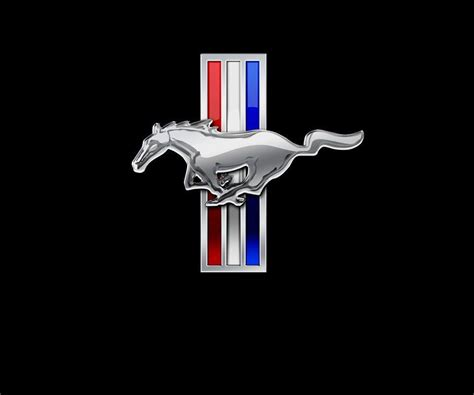 mustang ford logo mustang logo wallpapers wallpaper cave