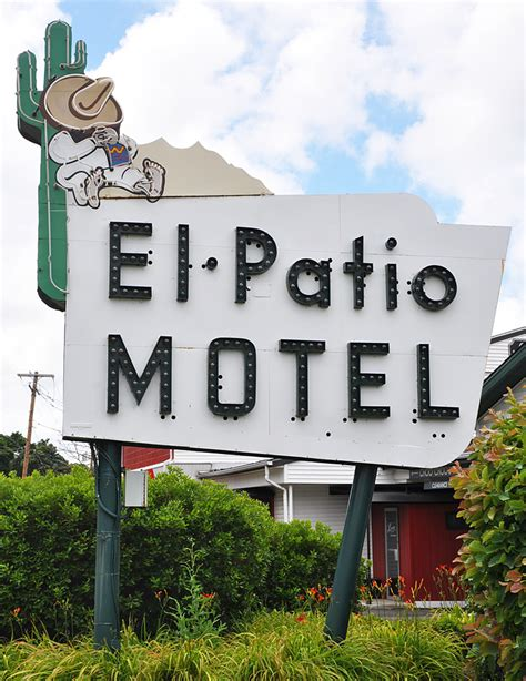 Patio Motel by Pennsylvania Signs Roadsidearchitecture