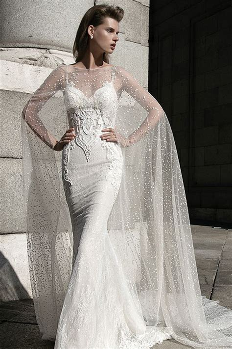 wedding dress cape 14 cape wedding dresses for a trendy and new bridal look