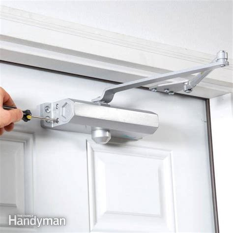15 Awesome Pinterest Diy Projects For Your Home Overhead Door Closer Adjustment