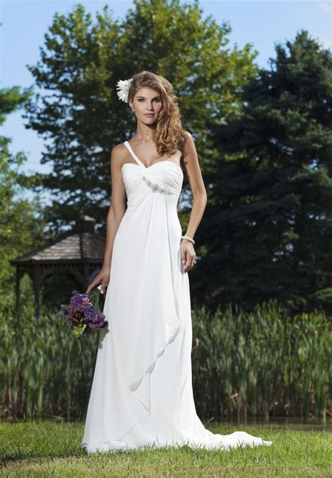 whiteazalea simple dresses summer chiffon simple wedding