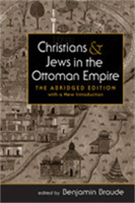 jews in the ottoman empire lynne rienner publishers christians and jews in the