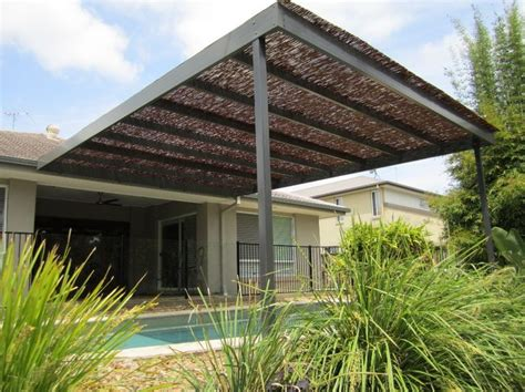 Patio Covers Qld Bamboo Patio Covers Bamboo Pool Cover Brisbane Outside