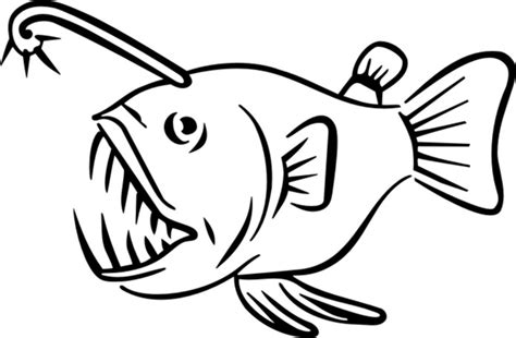 finding nemo coloring pages anglerfish angler fish m312502 4 00 custom vinyl stickers