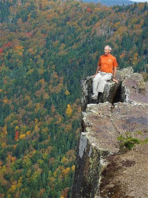 Mountain Rock Table by Hike Table Rock Nh