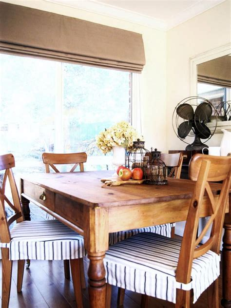 dining room decor update bench chairs pillows the budget friendly dining room updates hgtv