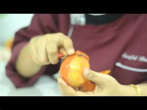 Ukiran Sabun ukiran buah sayuran tomato