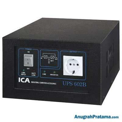 Baterai Ups Ica Ce1200 ica line interactive pn series ups 602b 1200va 600w ups
