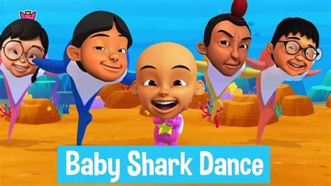 baby shark parody baby shark dance parody lucu upin ipin youtube