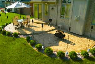 Patio Design Pictures Gallery by Concrete Patio Designs Ideas Pictures And 2017 Plans