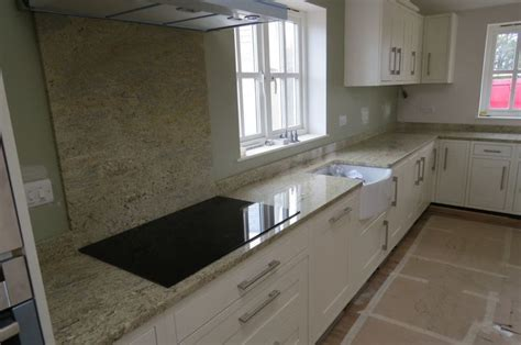 Granite Splashbacks For Kitchens by Kashmir Gold Granite Kitchen Worktops And Splashback