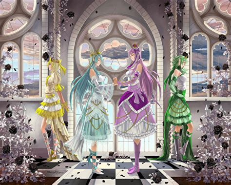 Z Anime Descargar by Fondos De Pantalla Vocaloid Anime Chicas Descargar Imagenes