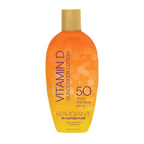 Suncreen Gold Spf 50 raydiant spf 50 lotion sunscreen australian gold cosmoprof