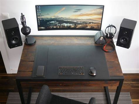 best desk setup for productivity 15 best collection of minimal computer desk