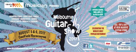 new year melbourne 2016 program melbourne guitar show 2016 australian musician magazine
