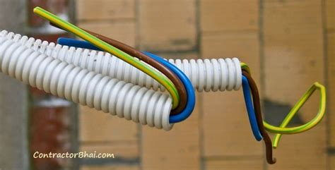 what is electrical wire color coding contractorbhai