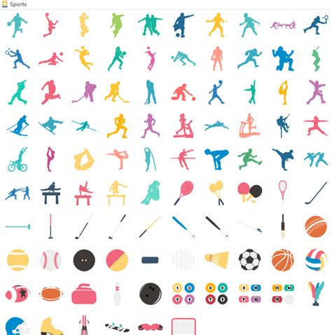 sports infographics elements for free