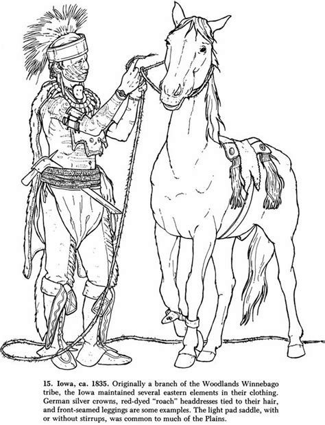 coloring page of native american indian coloring page native americans az coloring pages